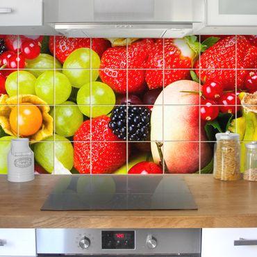 Adesivo per piastrelle - Fruit Basket