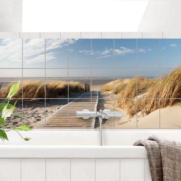 Adesivo per piastrelle - Baltic beach