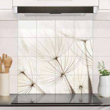 Adesivo per piastrelle - Gentle Grasses - Quadrato