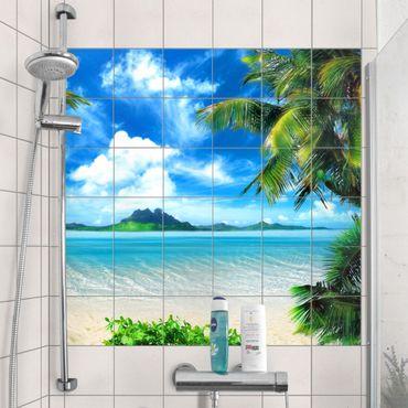 Adesivo per piastrelle - Dream vacation