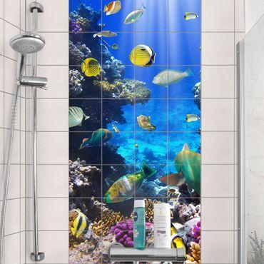 Adesivo per piastrelle - Underwater Dreams