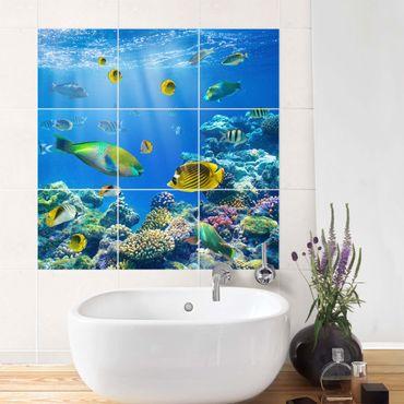 Adesivo per piastrelle - Underwater Lights