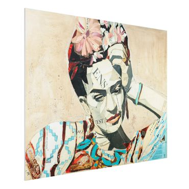 Quadro in forex -Frida Kahlo - Collage No.1- Orizzontale 4:3