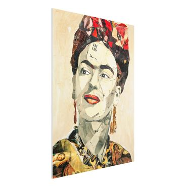 Quadro in forex -Frida Kahlo - Collage No.2- Verticale 3:4