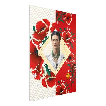Quadro in forex -Frida Kahlo - Poppies- Verticale 3:4