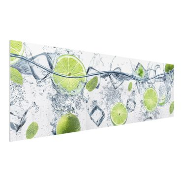 Quadro in forex - Refreshing lime - Panoramico