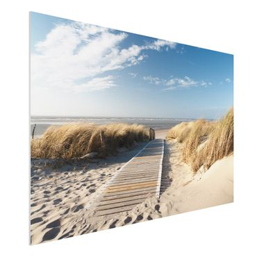 Quadro in forex - Baltic beach - Orizzontale 3:2