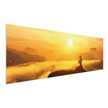 Quadro in forex - Yoga Meditation - Panoramico