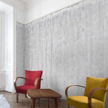 Carta da parati - Concrete Wallpaper - Eroded Concrete Wall
