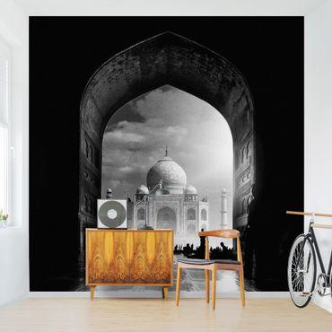 Carta da parati - Il cancello al Taj Mahal