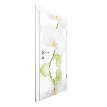 Carta da parati per porte - Wellness orchid