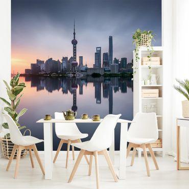 Carta da parati - Skyline di Shanghai di mattina