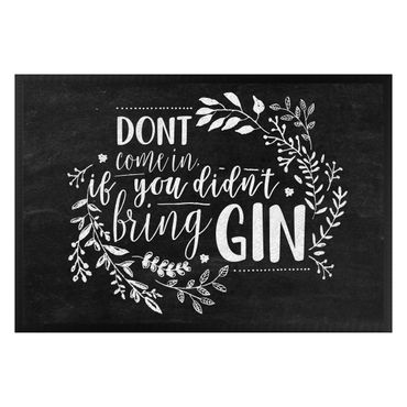 Zerbino - Do not come in if you didn't bring gin