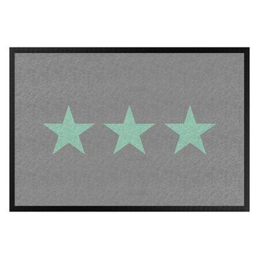 Zerbino - Three Stars Grey Mint