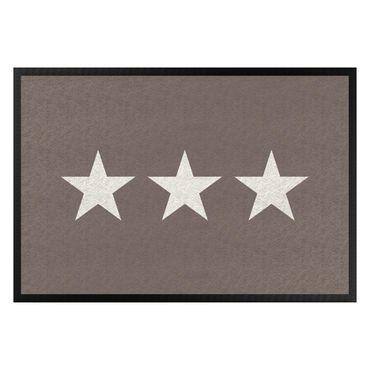 Zerbino - Three Stars Grey Brown White