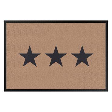 Zerbino - Three Stars Khaki Dark Grey