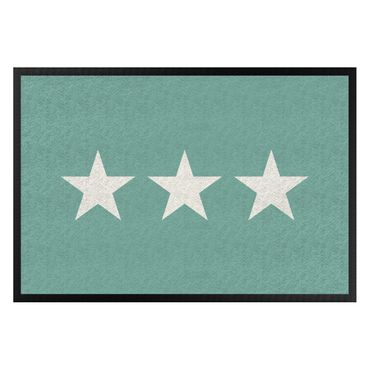 Zerbino - Three Stars Turquoise