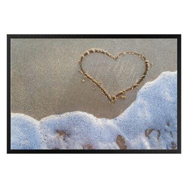 Zerbino - Heart on the beach