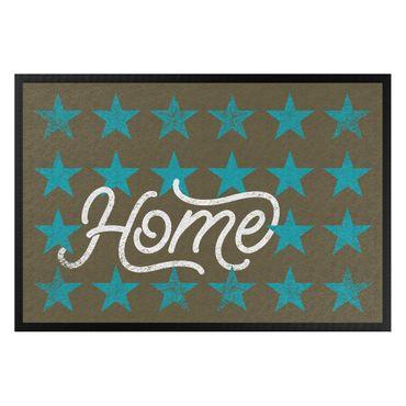 Zerbino - Home Stars Brown Turqoise Blue