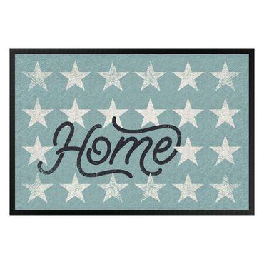 Zerbino - Home Stars Turquoise Grey