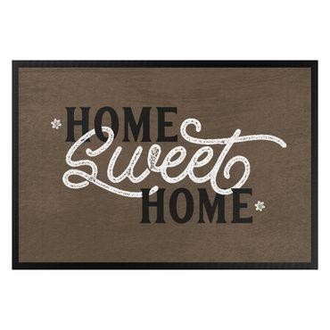 Zerbino - Home sweet home shabby brown