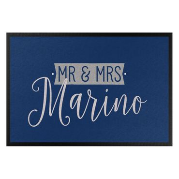Zerbino - Mr. E Mrs. Nomi Corsivo Personalizzati