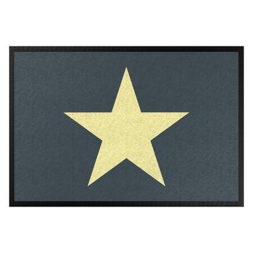 Zerbino - Star In Petrol Yellow