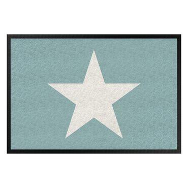 Zerbino - Star In Turquoise Grey