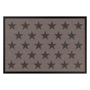 Zerbino - Stars Staggered Grey Brown White