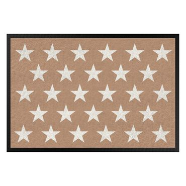Zerbino - Stars Staggered Khaki