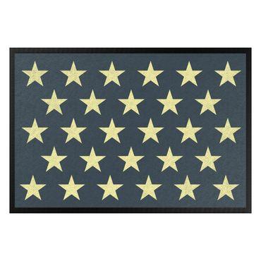 Zerbino - Stars Staggered Petrol Yellow