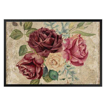Zerbino - Vintage Roses And Hydrangeas