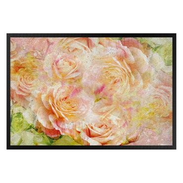 Zerbino - Watercolor pastel Rose