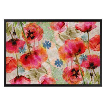 Zerbino - Watercolor Poppies