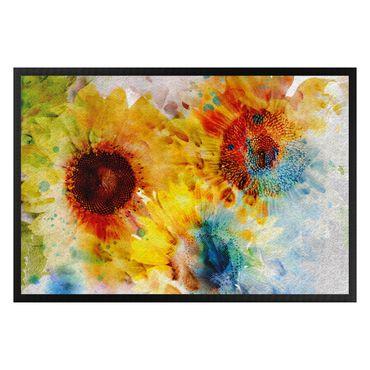 Zerbino - Watercolor Sunflower
