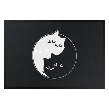 Zerbino - Yin And Yang Cats