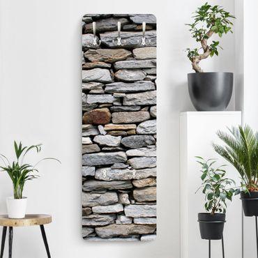 Appendiabiti effetto pietra - Muro pietre africano