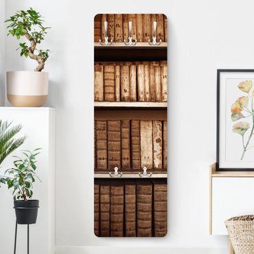 Appendiabiti - Antica biblioteca - Marrone