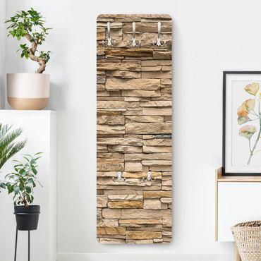 Appendiabiti effetto pietra - Muro pietre andaluse
