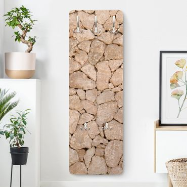Appendiabiti effetto pietra - Muro pietre pugliesi