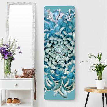 Appendiabiti - Blue Chrysanth