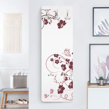 Appendiabiti con fiori - Fiore di pesco - Moderno
