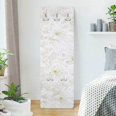 Appendiabiti - Dahlias sea of flowers white
