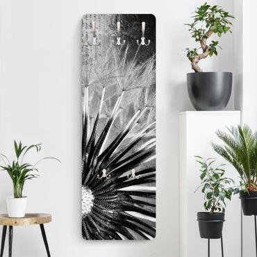 Appendiabiti - Dandelion Black & White