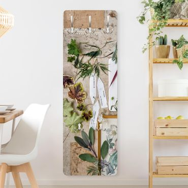 Appendiabiti - Flowers And Garden Herbs Vintage