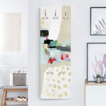 Appendiabiti moderno - Cascata di colori I