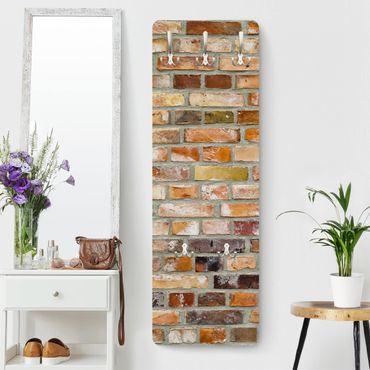 Appendiabiti effetto pietra - Colori della parete