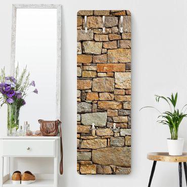 Appendiabiti effetto pietra - Muro pietre croazia