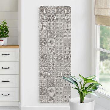 Appendiabiti - Piastrelle mosaici Coimbra grigio