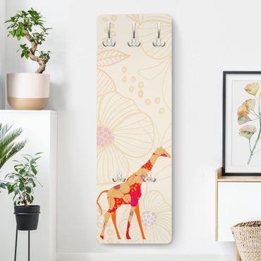 Appendiabiti - Floral Giraffe